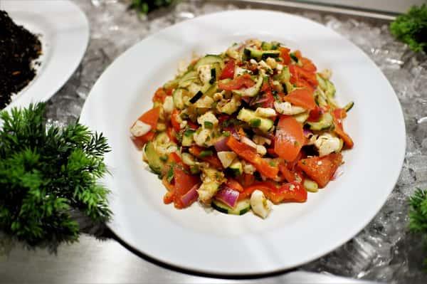 Scallop & Ceviche Salad