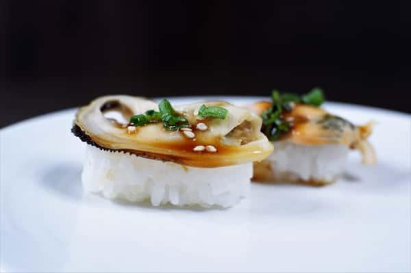 Mussel Nigiri