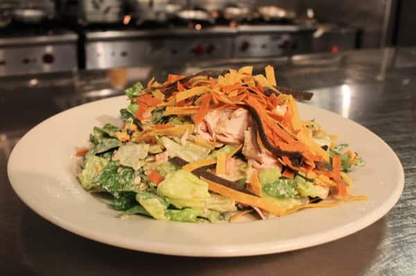 Fajita Chicken Salad