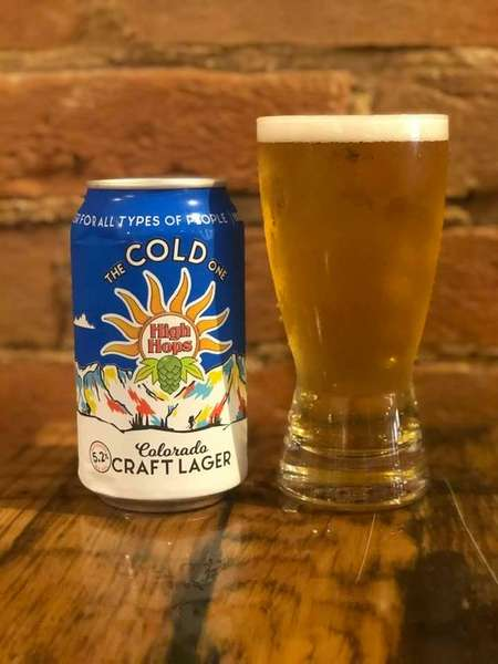 High Hops Cold One Lager