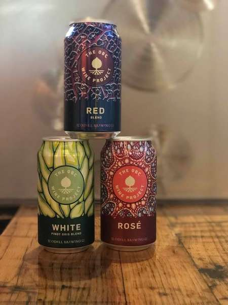 Odell's Canned Wine