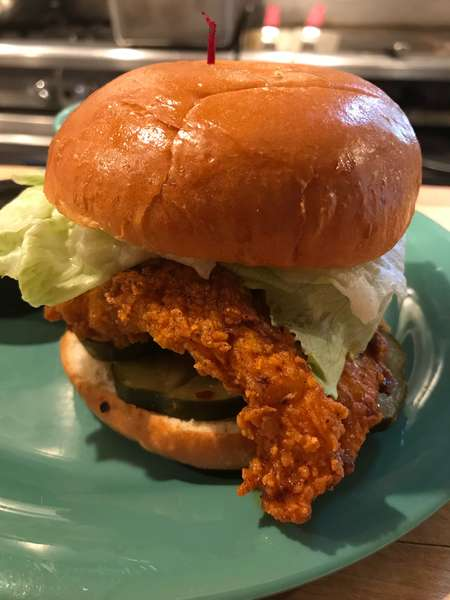 Spicy Charleston Chicken Sandwich