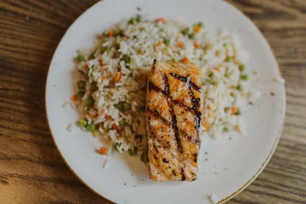 Salmon & Rice Pilaf