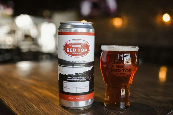 32oz Crowler-Red Top Red Tart Ale