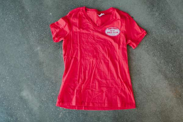 V Neck Women's Tee Small