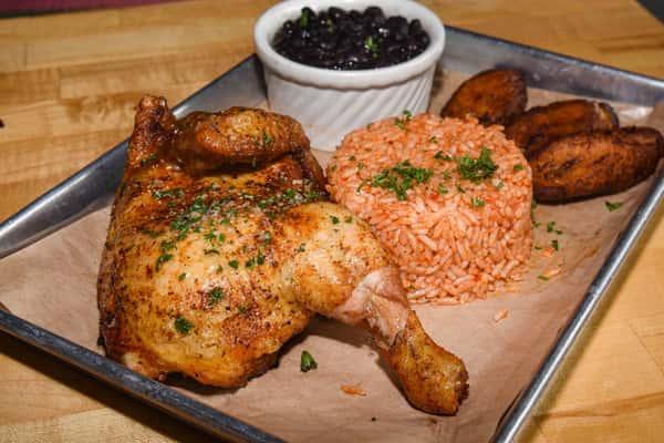 Peruvian Half Roasted Chicken