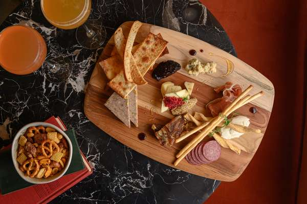 charcuterie and cocktails