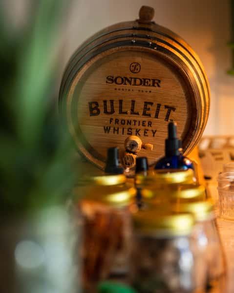 bulleit bourbon barrel