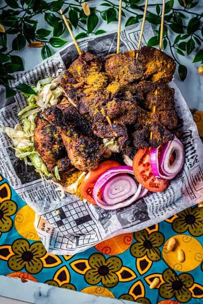 Beef & Chicken Suya
