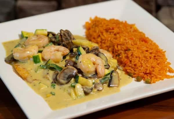 Tilapia and Shrimp*