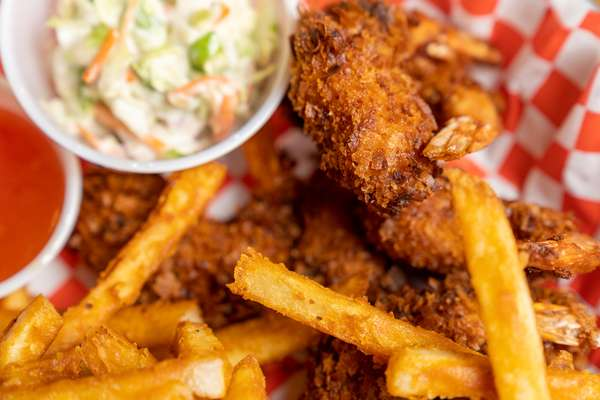 Wasatch Deli_Coconut Shrimp with Fries