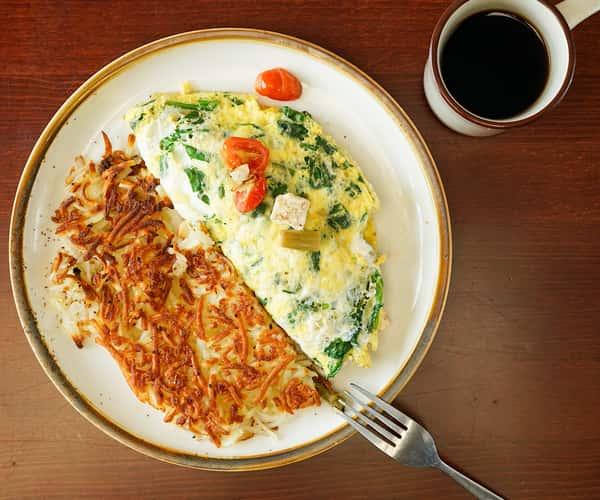 Mediterranean Asparagus Omelette
