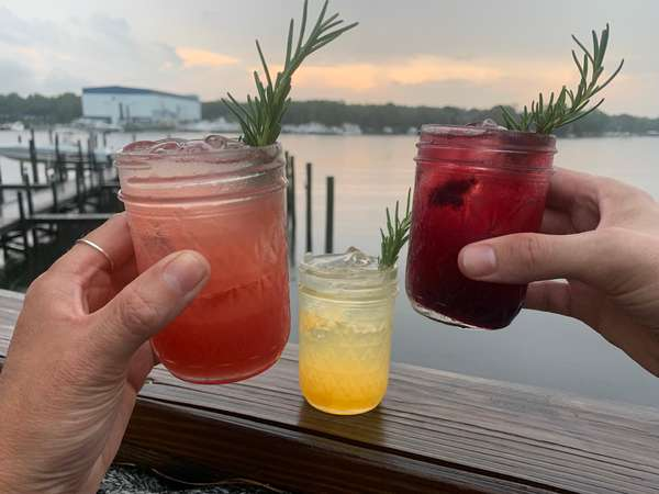 Cocktails and Sunsets