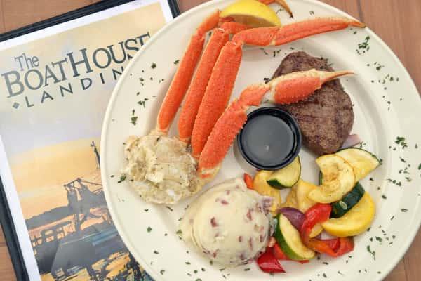 Snow Crab and Steak