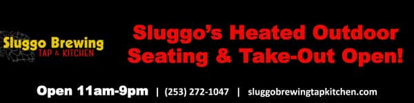 Sluggo's Heated Outdoor Seating & Take-Out Open