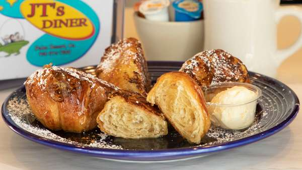 Jack's Famous Croissant French Toast