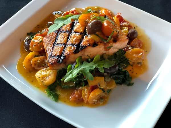 Pan Roasted Atlantic Salmon