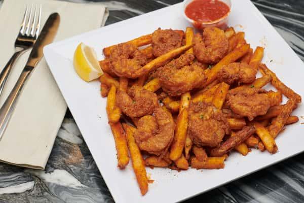 Yusef's Fried Shrimp Platter