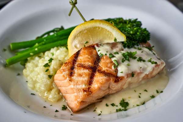 Grilled Scottish Salmon*