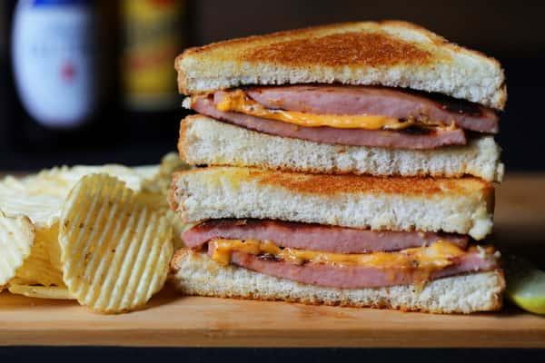 Ricky's Full of Bologna Sandwich