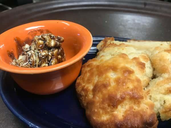 Buttermilk Biscuit & Molasses Butter