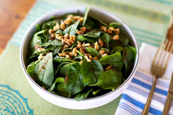 Tamarind Spinach Salad