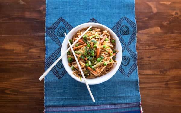 Chow Mein (Nepali Style)