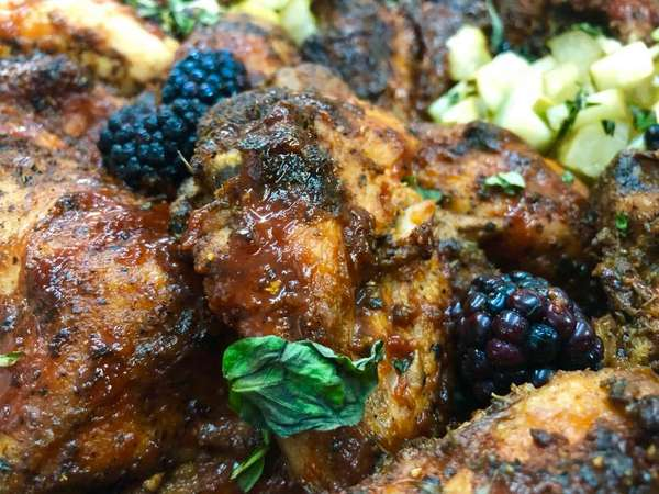 blackberry and georgia pickles chicken