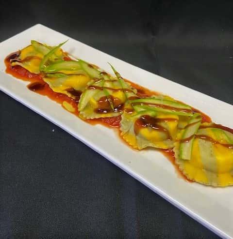 Burrata Cheese Ravioli
