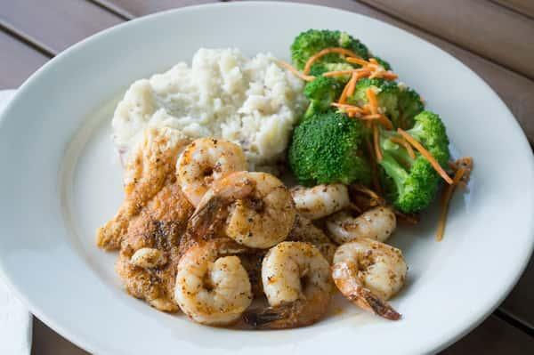 Grouper & Shrimp
