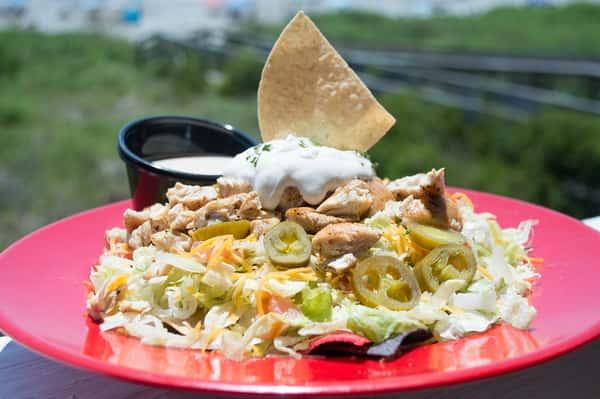 Shrimp Taco Salad