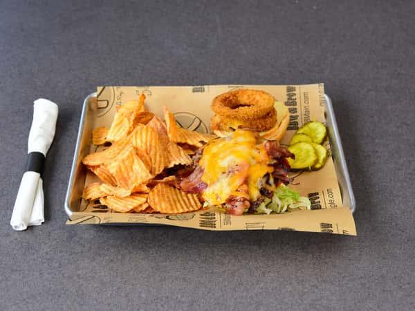 Bbq smokehouse burger