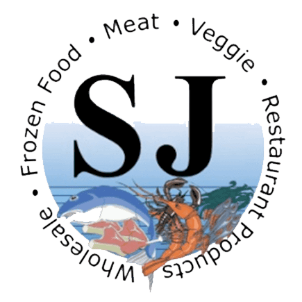 sj logo - meat, veggie, restaurant products, wholesale, frozen food