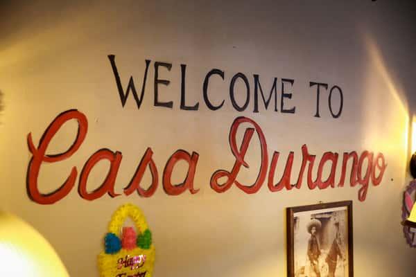 welcome to casa durango