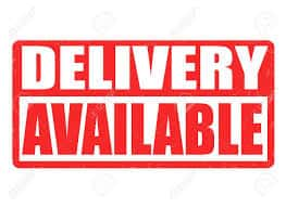 DELIVERY IS AVAILABLE NOW