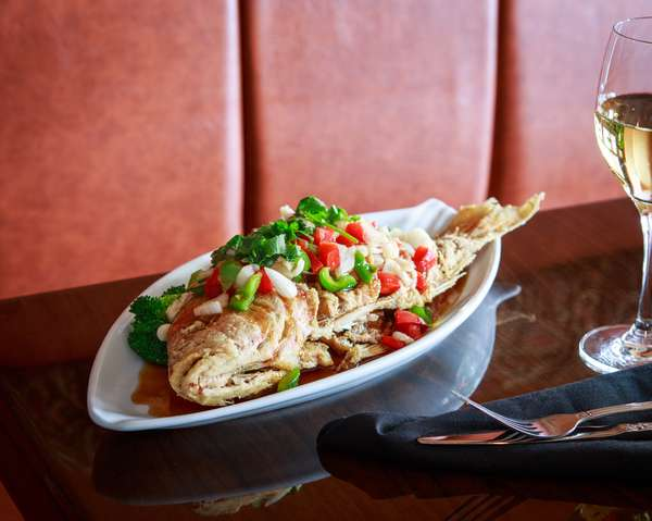 THREE FLAVORED RED SNAPPER