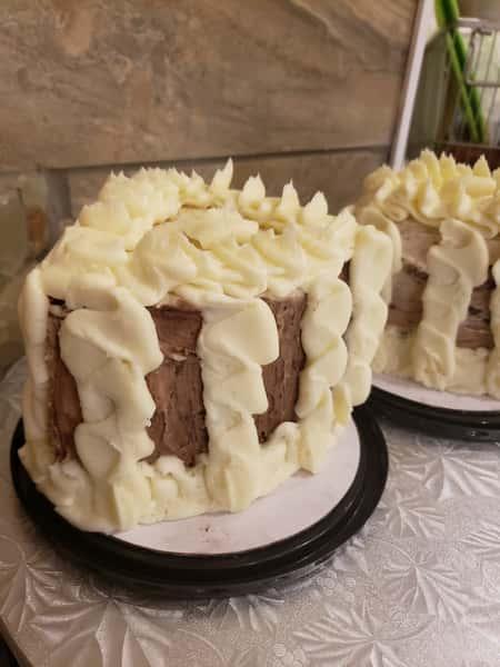Double Vanilla Cake