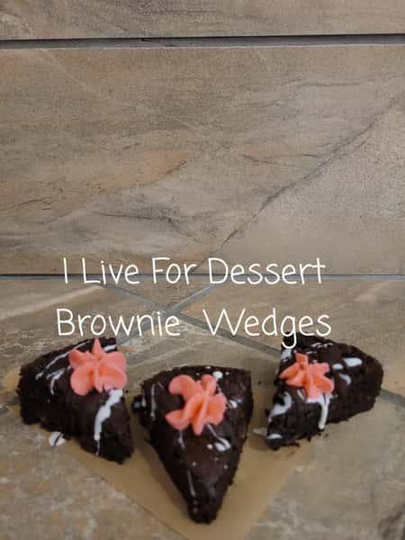 Brownie Wedges