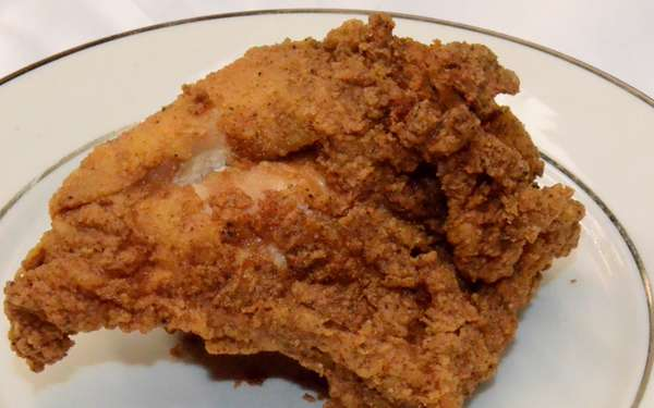 Fried Chicken Breast (with two sides)