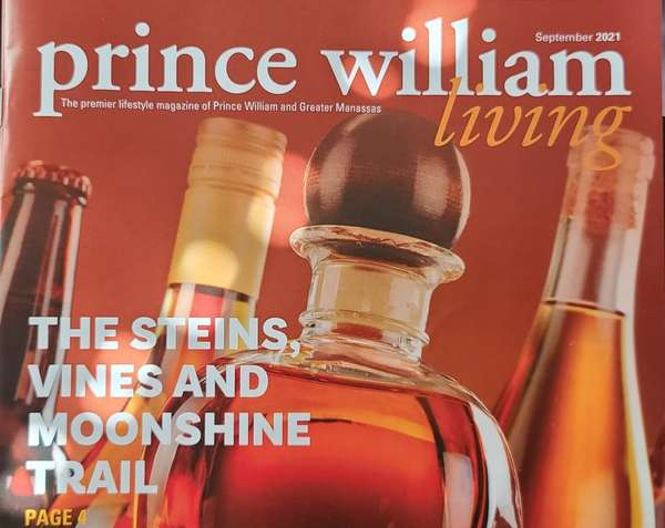 Prince William Living The Steins, Vines and Moonshine Trail page 9.