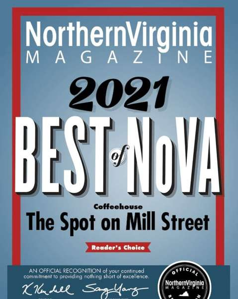 Northern Virginia Living Best Coffeehouse 2021