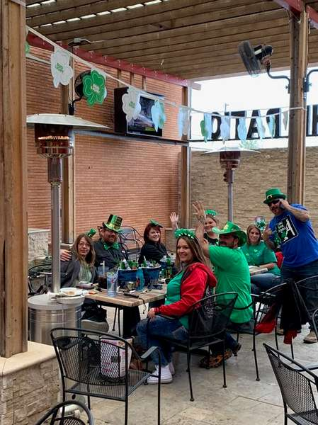 patio celebration