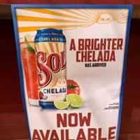 chelada beer sign