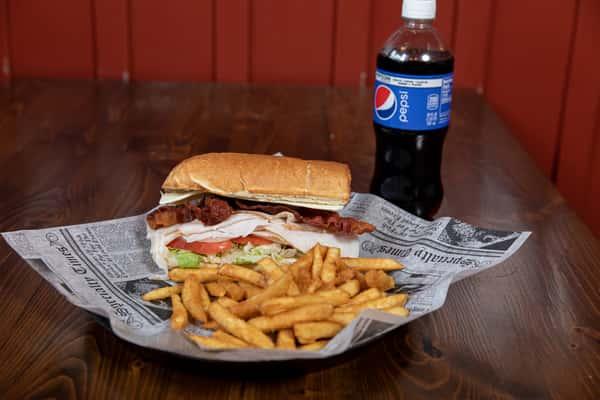 Half Sub w/ Fries & 20 oz. Drink