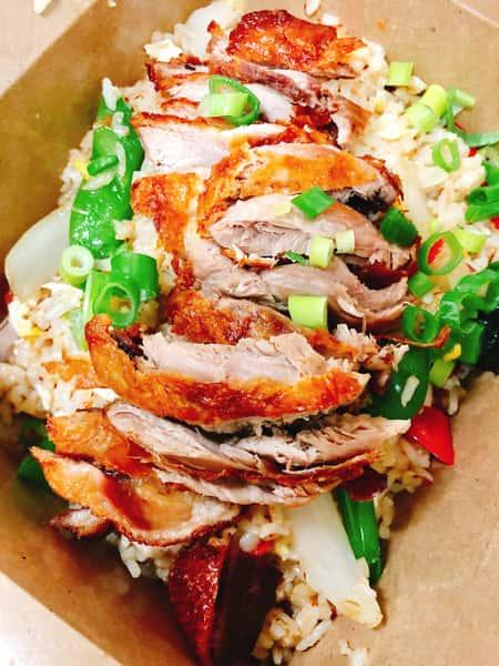 Duck Basil Fried Rice