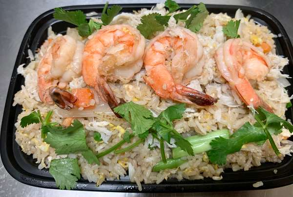 Crab & Shrimp Fried Rice