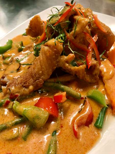 Curry Catfish