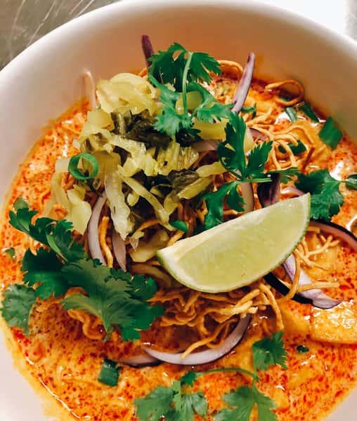 Curry Noodles (Khao Soi)