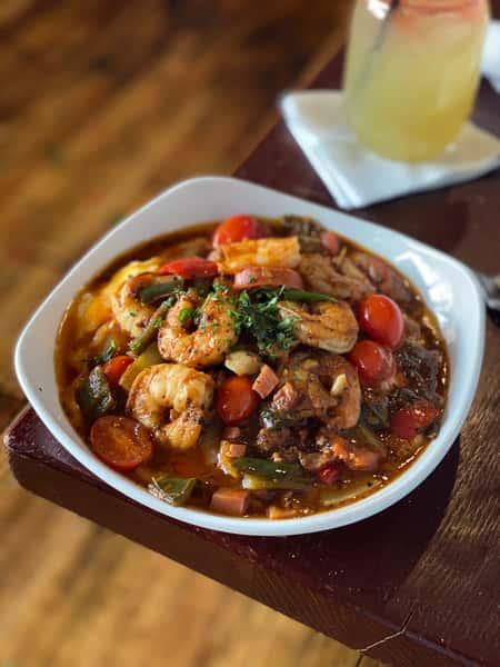 Creole Shrimp & Grits