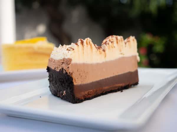 Tuxedo Truffle Mousse Cake